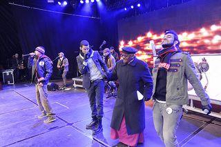 COP15 Bishop Tutu Dancing at Rally