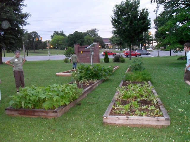 Raised Beds at Highland Pres
