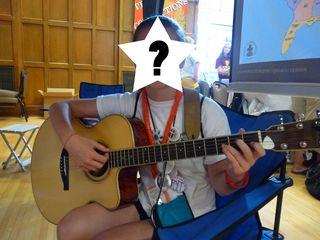 2010 Triennium Youth Guitar Question  Mark