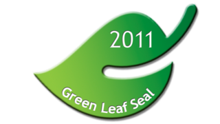 Green Leaf Seal (Small)